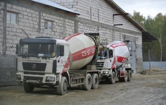 Погрузка бетона, бетон Челябинск